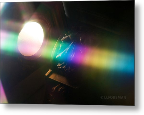 Prism Of Light Metal Print