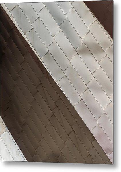 Pritzker Pavilion Detail Metal Print