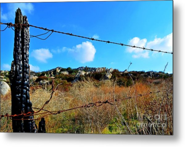 Private Property Metal Print