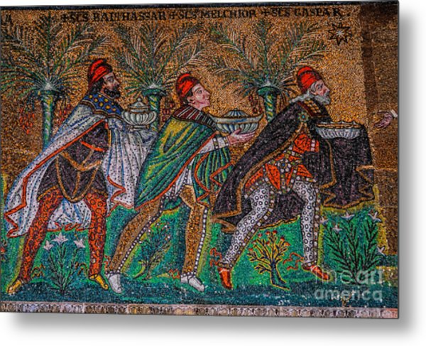 Procession Of The Magi Metal Print