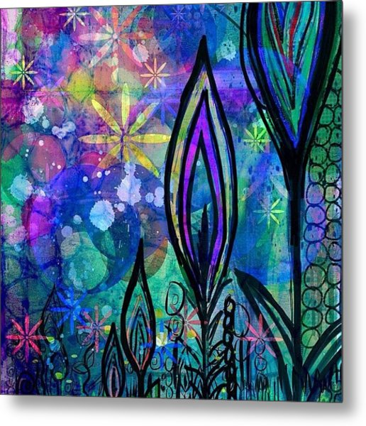 #procreate #ipadart  #garden Have A Metal Print