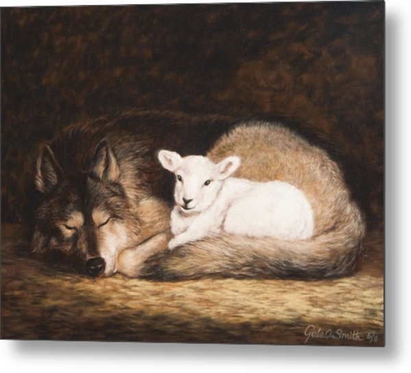 Promise Of Peace Metal Print by Gale Smith