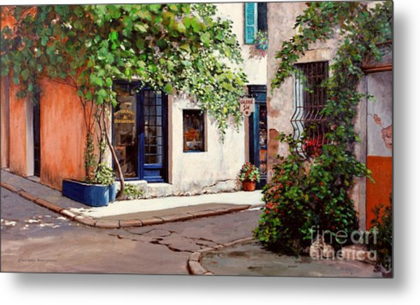 Provence Antiques Metal Print by Michael Swanson