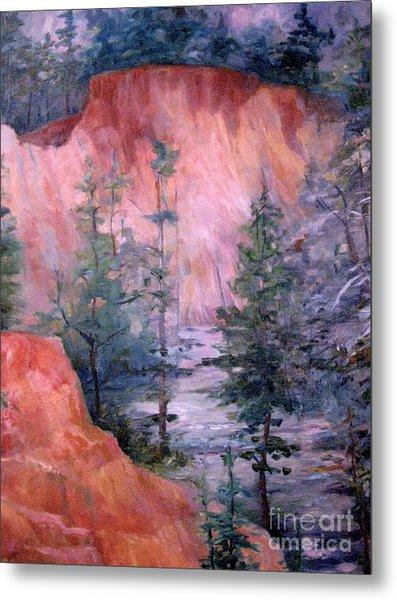 Providence Canyon 4 Metal Print