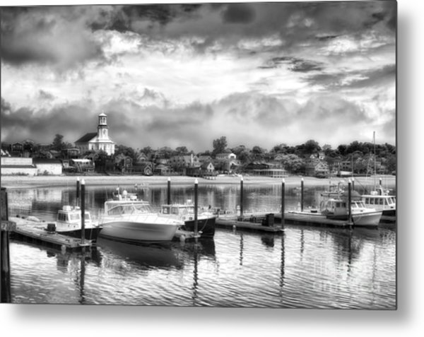 Provincetown Harbour View II Metal Print