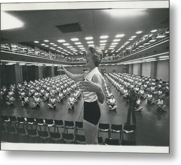 Prunella Stack Leads Health And Beauty League Anniversary Metal Print by Retro Images Archive