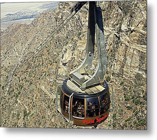 Ps Aerial Tram 18 Metal Print