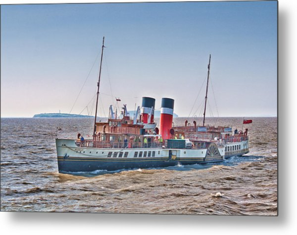 Ps Waverley Approaching Penarth Metal Print
