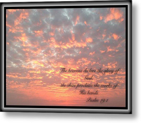 Psalm 19 11 Metal Print