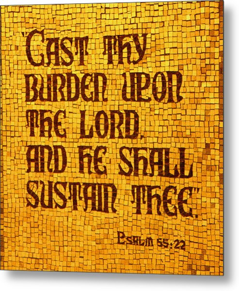 Psalm 55 Metal Print by James Hammen