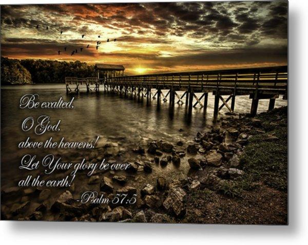 Psalm 57-5 Metal Print