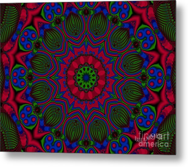 Psycho Babble  Metal Print by Bobby Hammerstone
