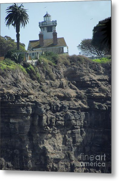 Pt. Fermin Lighthouse Metal Print
