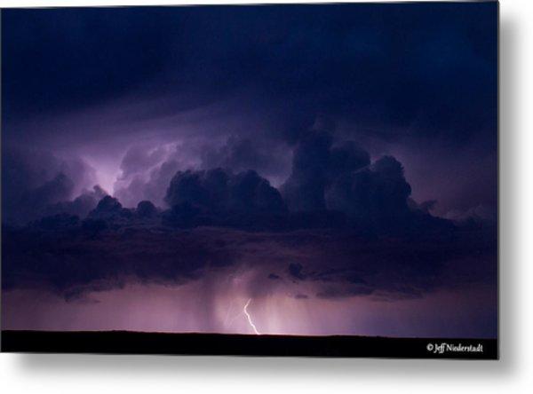 Pueblo Lightning Metal Print