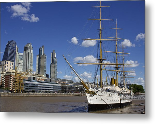 Puerto Madero Buenos Aires Metal Print