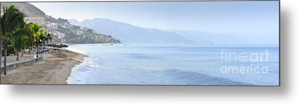 Puerto Vallarta Beach In Mexico Metal Print