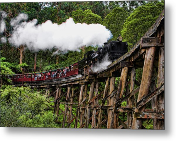 Puffing Billy Metal Print