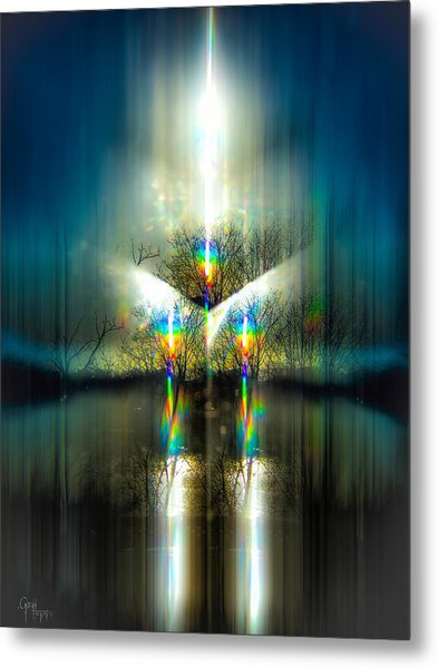 Pulsar Ignition Metal Print