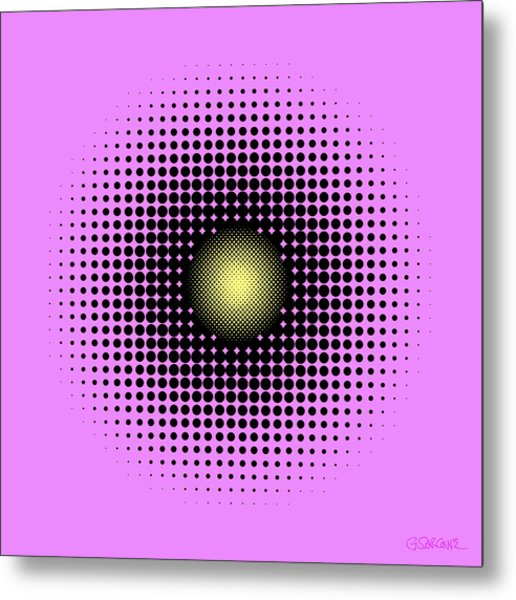 Pulsations Metal Print