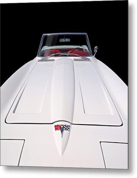 Pure Enjoyment - 1964 Corvette Stingray Metal Print
