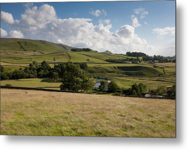 Pure Yorkshire Metal Print