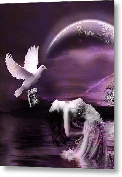 Purple Dream Metal Print