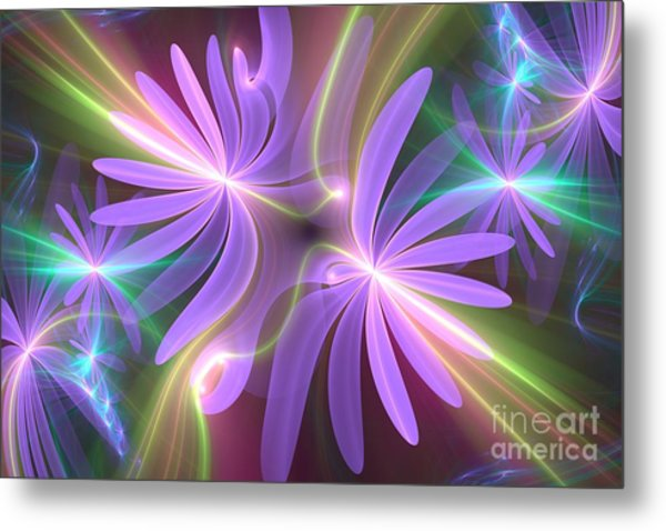 Purple Dream Metal Print