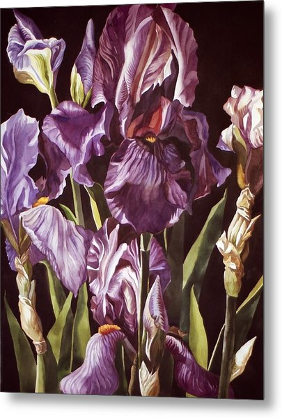Purple Fantasy Metal Print