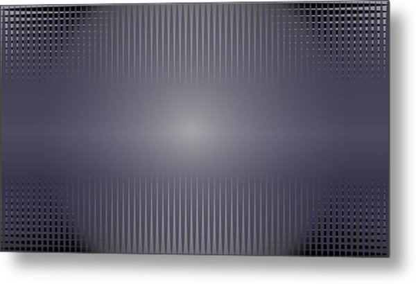 Purple Horizon Metal Print