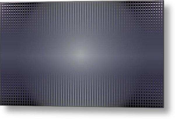 Purple Horizon Metal Print