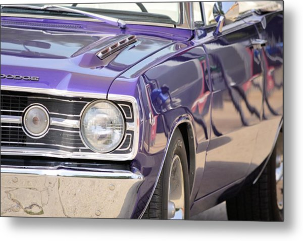 Purple Mopar Metal Print