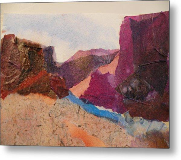 Purple Mountains Metal Print by Lori Chase