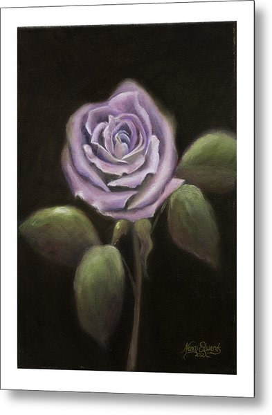 Purple Passion Metal Print by Nancy Edwards