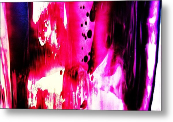 Purple Red Haze Metal Print