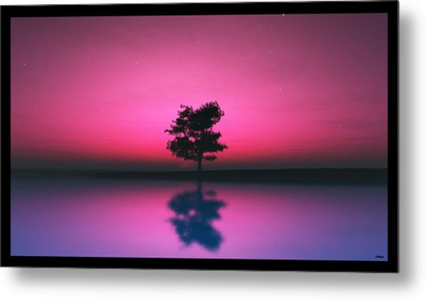 Purple Sky... Metal Print
