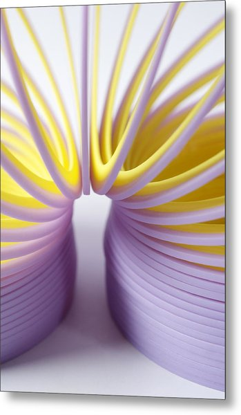 Purple Spring Metal Print by Kenneth Feliciano