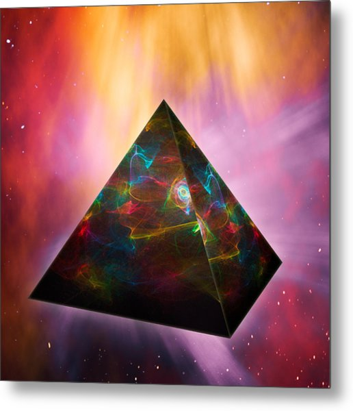 Pyramid Of Souls Metal Print