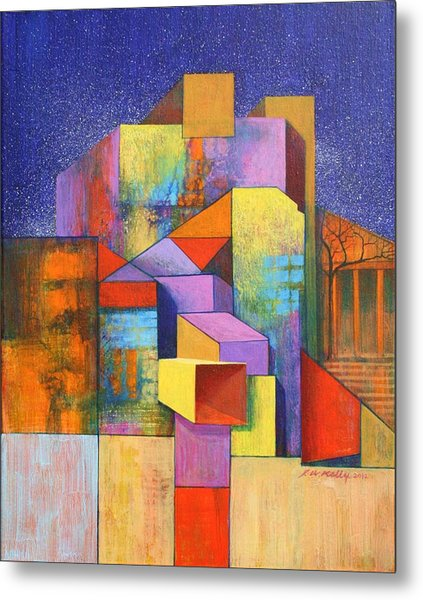 Pythagoras Revisited Metal Print by J W Kelly