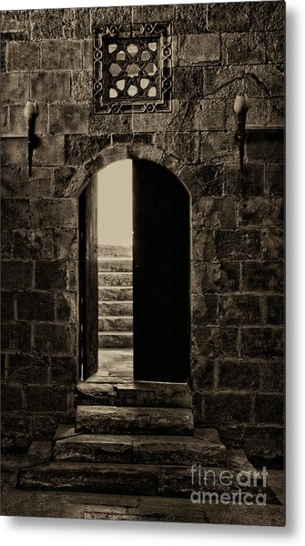 Qalawun Doorway Cairo Metal Print
