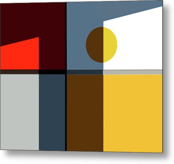 Quadrants Metal Print