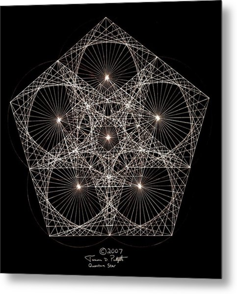 Quantum Star II Metal Print