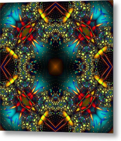Quasar Kaleidoscope No 1 Metal Print