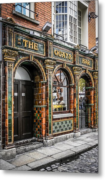 Quays Bar Metal Print