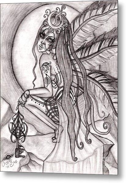 Queen I' Eloraii Metal Print by Coriander  Shea