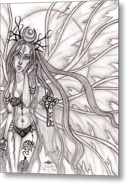 Queen Mabh Metal Print by Coriander  Shea