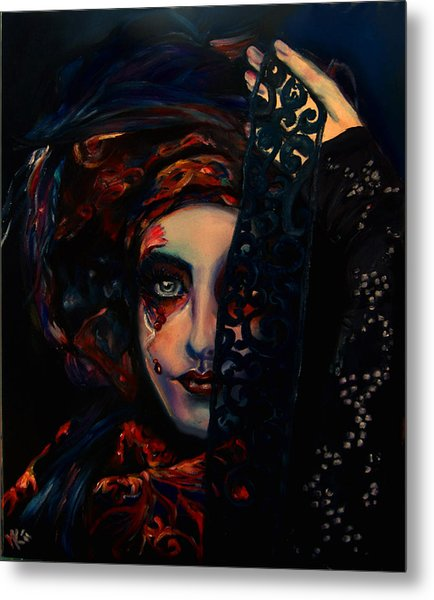 Queen Of Darkness Metal Print