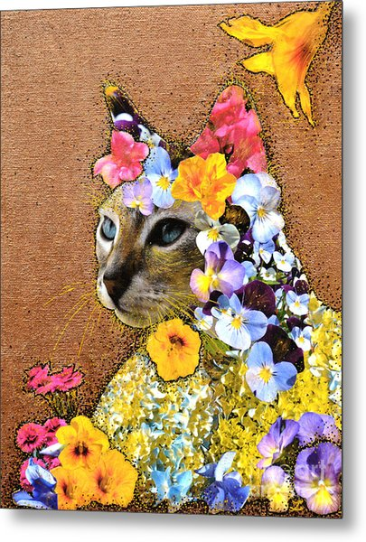 Queen Of The Garden Metal Print