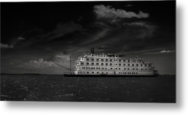 Queen Of The Mississippi  Metal Print