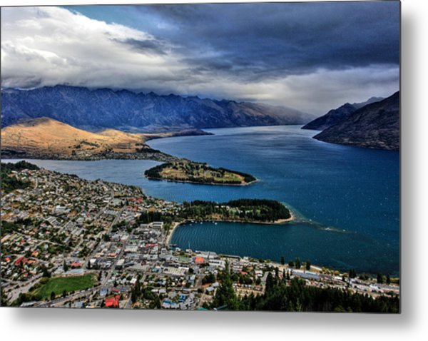 Queenstown New Zealand Metal Print