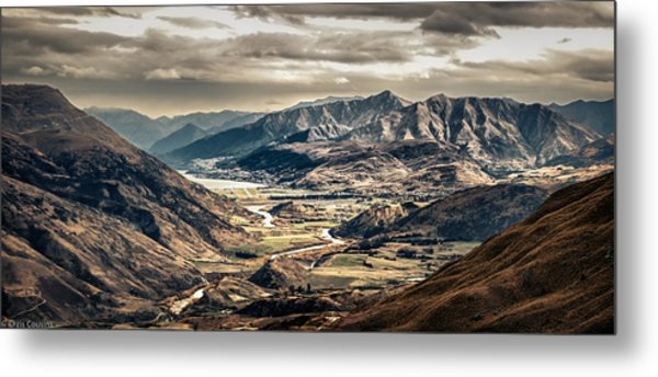 Queenstown View Metal Print
